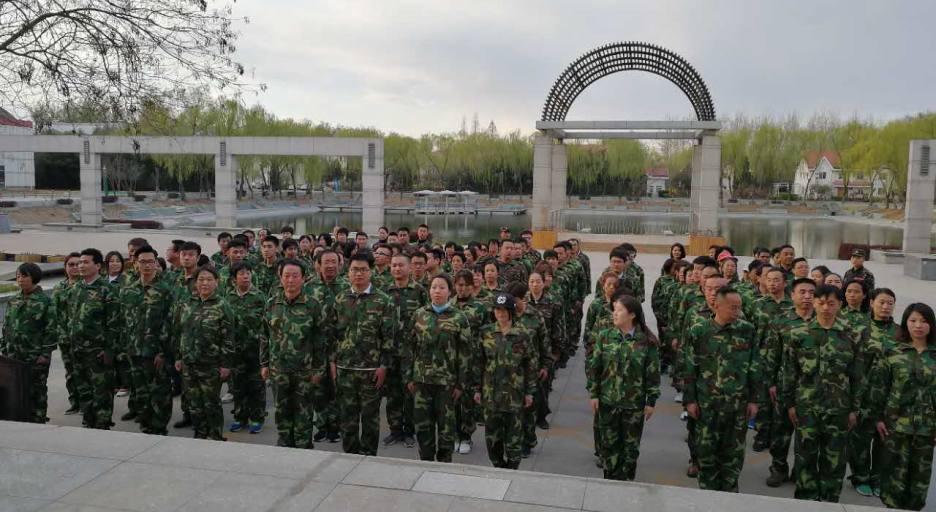 打造销售军团军事化训练营