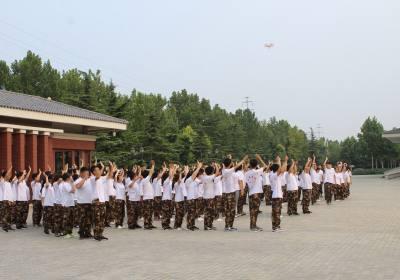 河北廊坊梅花集团新员工素质拓展培训班精彩展示